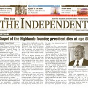 Obituary for Clarence Larson in the Sun/Independent Saturday, February 13, 1999