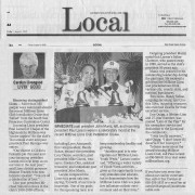 San Mateo County Times Article Friday, August 1, 2008
